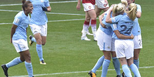 Manchester City v Arsenal, FAWSL 1