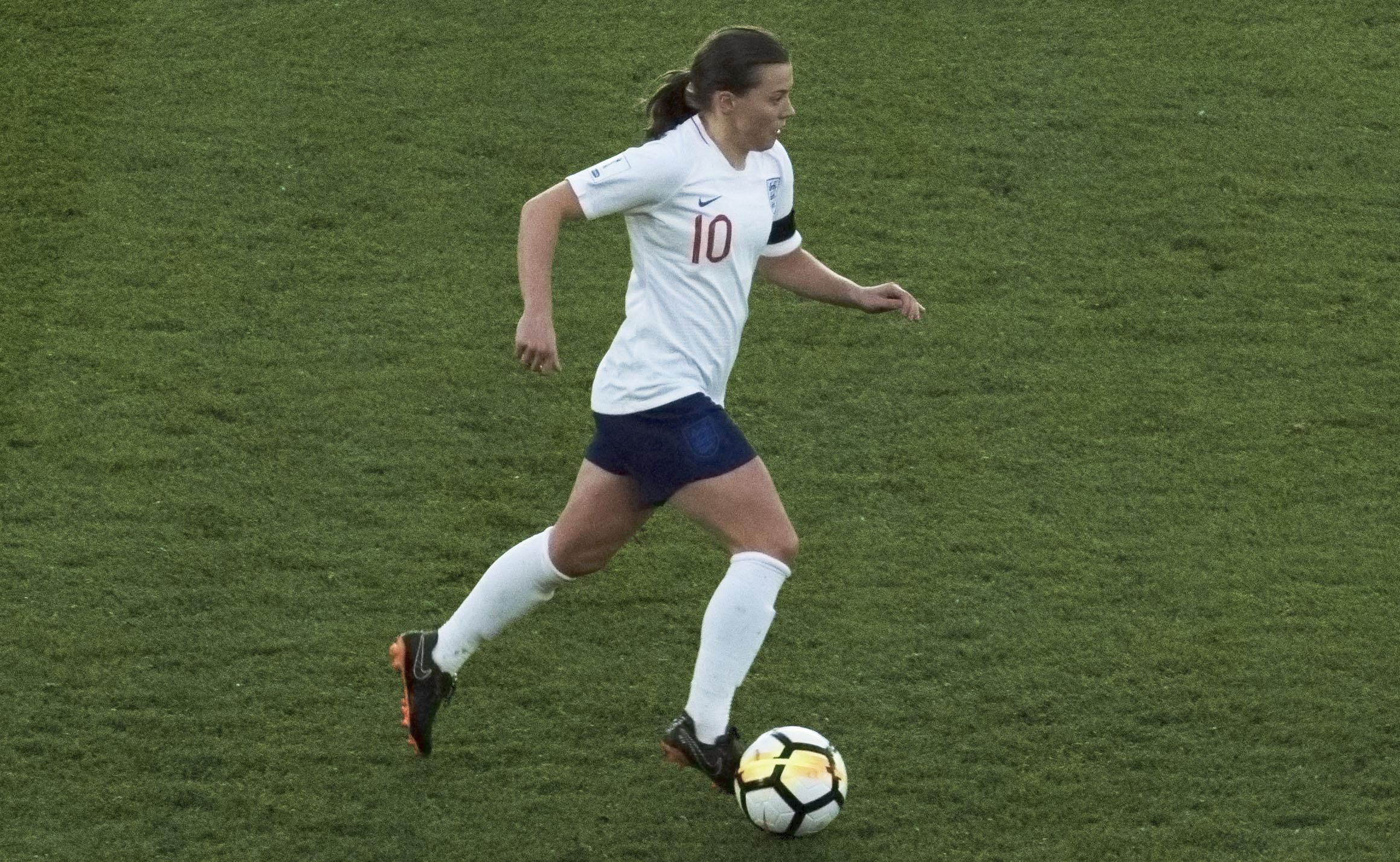 Fran Kirby, England v Wales