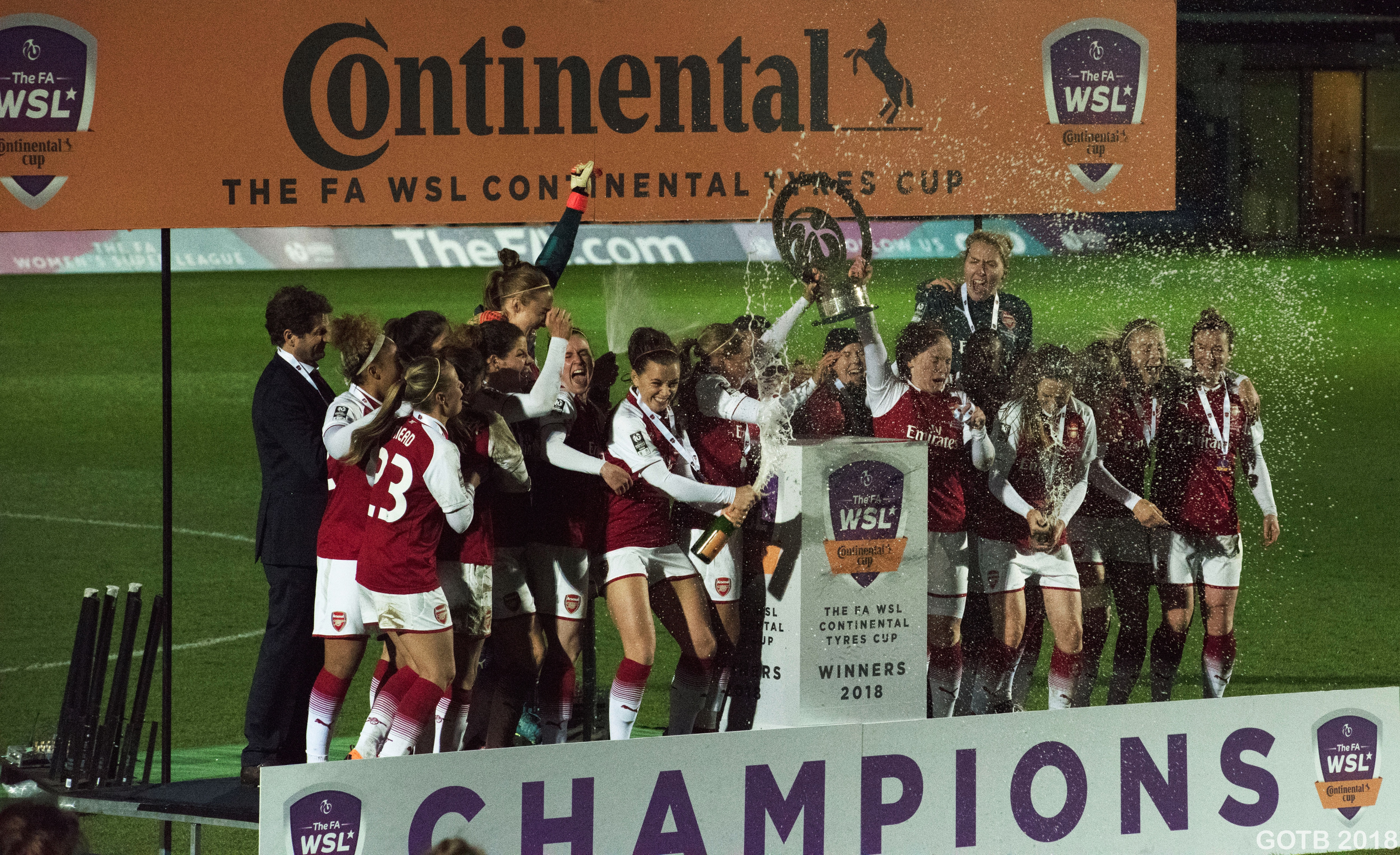 Arsenal, 2018 Continental Cup Champions